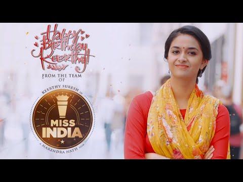 Keerthy Suresh Birthday Song Teaser