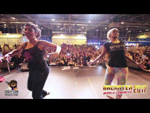 Evelyn la negra VI Bachatea World Congress (Madrid-Spain)