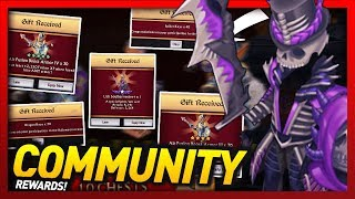 Knights and Dragons - INSANE Community Rewards! Lich Soulharvester+ Power Leveling! w/100+ Chests!!