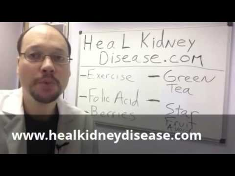 Video How to stop Kidney Failure | Stage 5 Kidney Disease Stopped