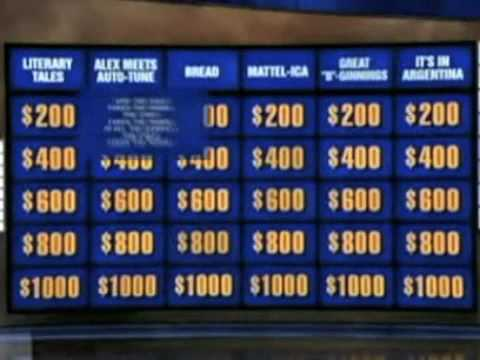"""What Is Last Week's """"Alex Meets Auto-Tune"""" Jeopardy Category?"""