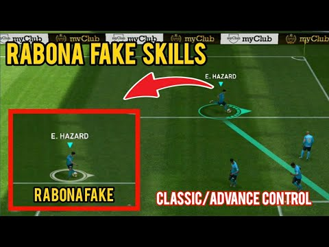 How to perform a Fake shot (3 types) in PES 19 Mobile (advanced