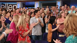 Video Audience Members' Answers That Literally Knocked Ellen Off Her Feet MP3, 3GP, MP4, WEBM, AVI, FLV Agustus 2019