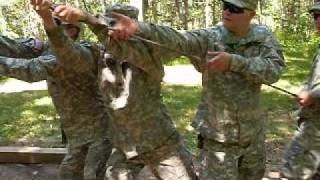 Army Obsticle Course Fail