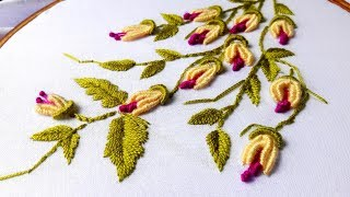 Hand Embroidery : Brazilian Embroidery.
