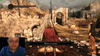 Dark Souls II Die Endlessly with Steam Controller and Without 11/30