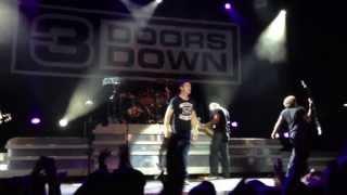 3 Doors Down - One Light | LIVE | HD | 013 Tilburg, The Netherlands 2013