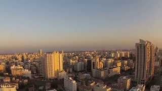 preview picture of video 'Sunset in Rishon-Lezion from Phantom 2 Vision Plus'