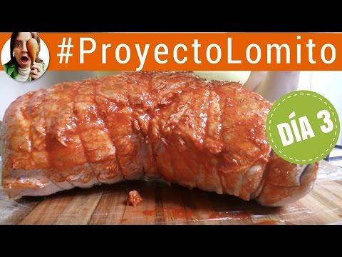 Cómo hacer lomo de cerdo curado (fiambre casero) DÍA 3 / Proyecto Lomito - Paulina Cocina