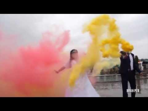 Кольоровий дим, відео 1