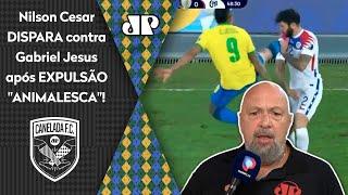 """""""Gabriel Jesus não tá jogando nada"""": Nilson Cesar critica jogador após expulsão"""
