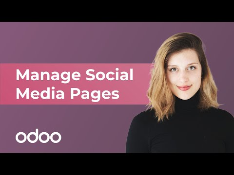 Manage Social Media Pages | Odoo Marketing