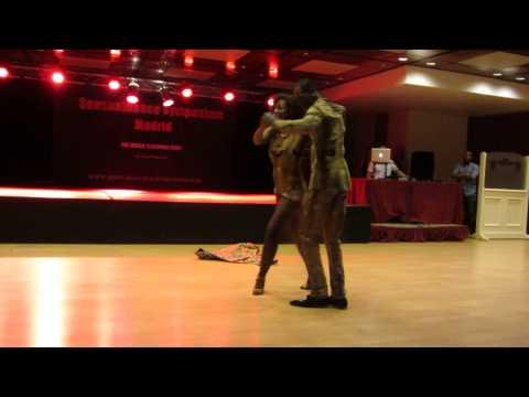 Dasmara & Iolanda SENSUALDANCE SYMPOSIUM MADRID 2014