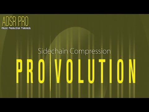 ADSR Pro Sidechain compression in Steinberg Cubase 5 Tutorial Video 1