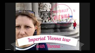 Verena on Imperial Vienna tour in English