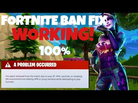 Fortnite Bypass HWID Ban Many times without reinstalling Windows