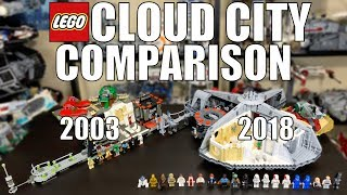 LEGO Star Wars CLOUD CITY Comparison! (10123 Vs 75222 | 2003 Vs 2018)