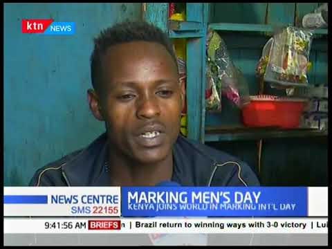 MARKING MEN'S DAY: He was stabbed in 2009, has been on wheelchair since then but beating all odds