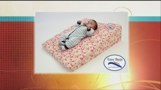 Mass Appeal Help your baby sleep better with the Easy Burp pillow!