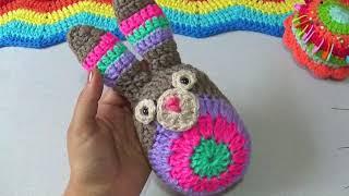 Conejito Mandala A Crochet Paso A Paso