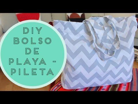 DIY • BOLSO DE PLAYA/PILETA