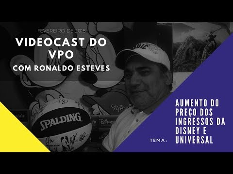 Entrevista com Ronaldo Esteves sobre o aumento dos ingressos da Disney e Universal