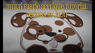 How Do Machine Applique With Multiple Fabrics