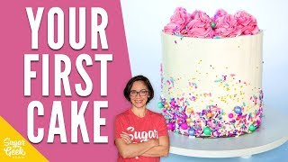 How To Decorate Your First Cake
