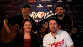 FIRELIGHT - COMING HOME Malta Eurovision 2014. A message to Eurovision Ireland