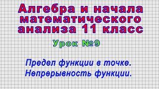 Алгебра 11 класс Урок 9