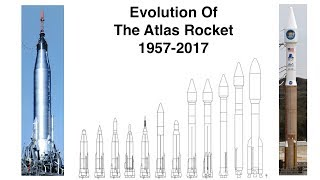 How The Atlas Rocket Evolved Over 60 Years