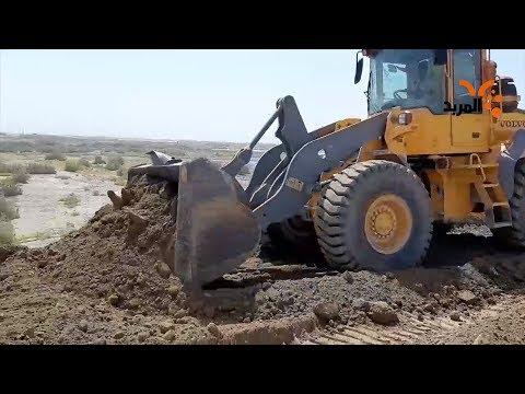 شاهد بالفيديو.. اجراءات احترازية للموارد المائية في ذي قار تحسبا لموجات فيضانية #المربد