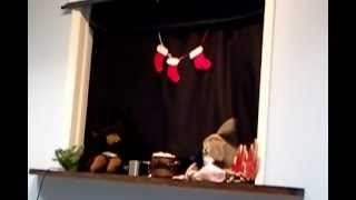 Christmas Puppet Show for kids - Bear Stays Up for Christmas