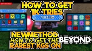 [NEW CODE]HOW TO GET 1,000 TRIES/SPIN ON BEYOND|NEW METHOD ON HOW TO GET RARE KG|ROBLOX NRPG- Beyond