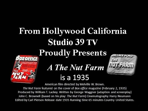 Studio 39 TV: The Nut Farm 1935 COMEDY