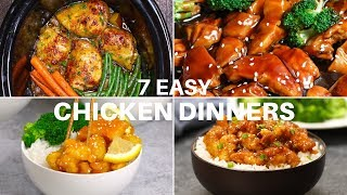 7 Chicken Dinner Ideas {Quick and Easy}