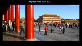 Video : China : The Forbidden City 紫禁城 in BeiJing (slideshow) - video