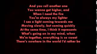 Miley Cyrus - Lighter lyrics [OFFICIAL] with music