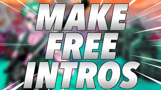 How to make FREE intros for your YouTube videos!! (iOS) *FREE*