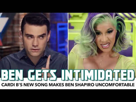 Cardi B's New Song Makes Ben Shapiro Uncomfortable