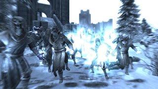 Skyrim Battles - The College of Winterhold vs Magnus [Legendary Settings]