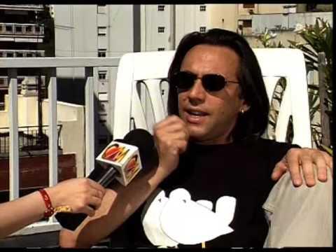 Alejandro Lerner video Entrevista CM - 1997