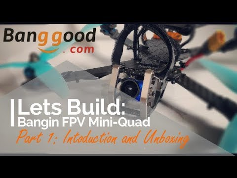 Lets Build: A Decent Beginners FPV Mini-quad Part 2 Introduction and unboxing