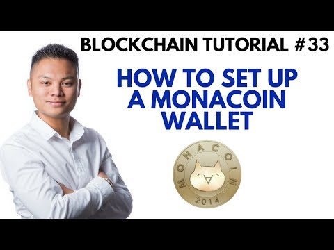 Blockchain Tutorial #33 - How To Setup A Monacoin Wallet