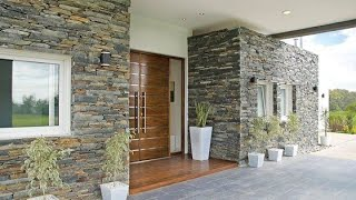 100 Home Exterior Wall Design Ideas 2020