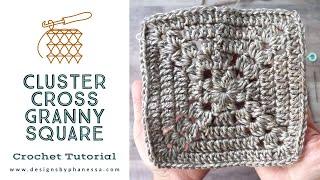 Crochet Granny Square Pattern Tutorial