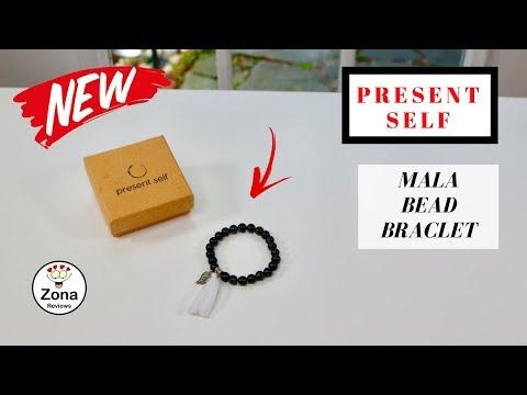 😍  PRESENT SELF   ❤️  Premium Unisex Mala Bead Bracelet – Review   ✅