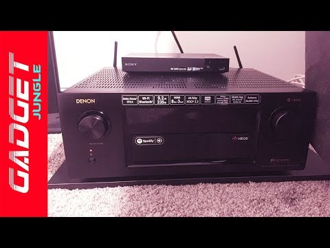 Best Home Theater Receiver 2019 - Denon AVRX4300H Review