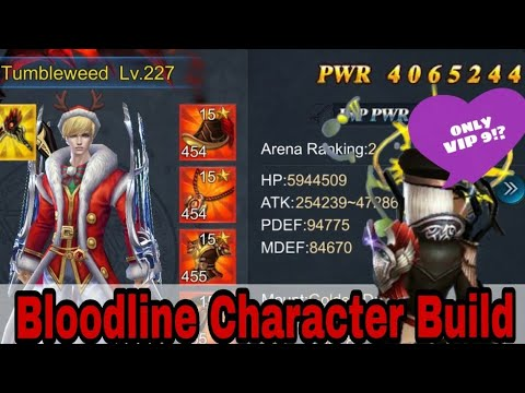 GPC Bloodline Character Build. TheDons Rival, Goddess Primal Chaos, Bloodline GPC