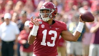 Every Tua Tagovailoa Touchdown at Alabama (2017-2019)